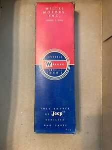 Nos Willys Wagon Pick Up 226 6 Motor Connecting Rod 928974