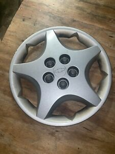 00 05 Chevrolet Cavalier 14 5 Spoke Hubcap Wheel Cover 9593208 9593452