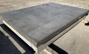 96 X 72 Precision Grade A Granite Layout Surf Plate With Stand Ybm 12570