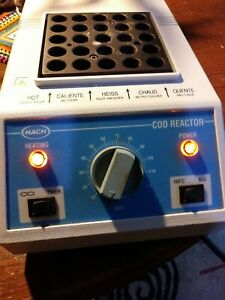Hach Cod Reactor 151 Well Dry Bath Incubator Science Lab Used Works