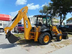 2015 Jcb 3cx 4x4 Backhoe Loader Big 100 Hp Tier Iv Turbo Autoshift 4 Speed