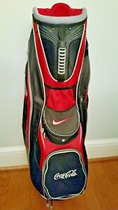 Coca Cola Coke Cart / Carry Golf Bag New Condition Light Weight5