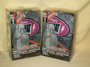 Pin Up Girl Seat Covers Lethal Threat Set 2 Spark Plug 2008 Low Back Universal