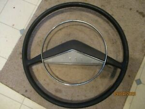 Clean Gently Used 1951 Ford Car Steering Wheel W Horn Ring Included Needs Repair