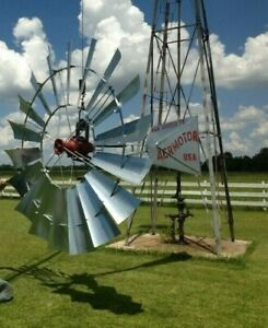 6 x802 Aermotor Windmill Complete Authorized Dealer For The Aermotor Company