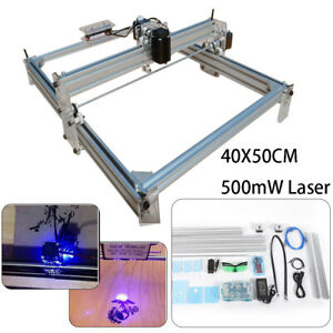 Mini Laser Cnc Router 500mw Diy Desktop Engraver Pcb Wood Mill Machine 40x50cm