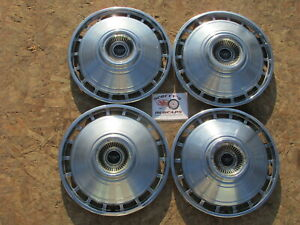 1964 Chevy Corvair 13 Wheel Covers Hubcaps Set Of 4