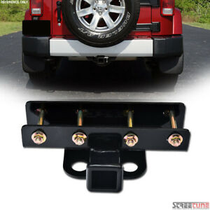 For 07 18 Jeep Wrangler Class 3 iii Trailer Hitch Receiver Rear Tube Towing Kit