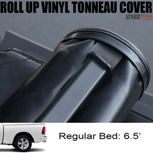 For 02 09 Dodge Ram Pickup Truck 6 5 Short Bed Lock Roll Up Soft Tonneau Cover