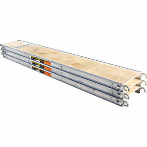 Metaltech Aluminum Scaffold Platform 3 pk 10ft l X 19in w Model M mpp1019k3