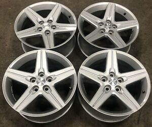 Chevy Camaro 18 Painted Silver Factory Oem Wheels Rims 2010 16 5439 2095