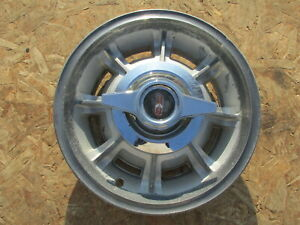 1965 1966 Oldsmobile 88 98 14 Mag Spinner Wheel Cover Hubcap One 1 look