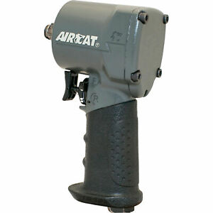 Aircat Ultra Compact Impact Wrench 1 2in Drive 700 ft lbs Torque Model 1057 th