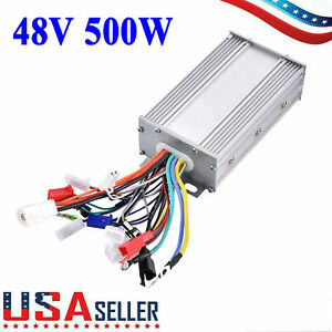 48v 500w Electric Bike Brushless Dc Motor Controller For E_bike Scooter Bicycle