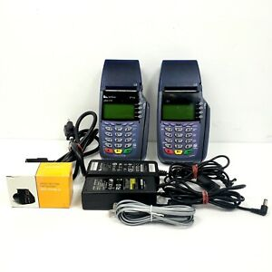 Verifone Vx510 Credit Card Readers Bad Rtc Chip Lot Of 2 For Parts Or Repair