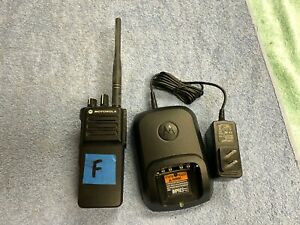 lotf Pre owned Motorola Xpr 7350e Two Way Radio Vhf Aah56jdc9wa1an W Charger
