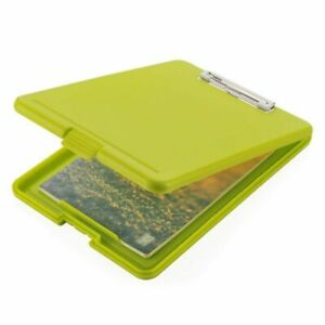 Plastic Storage Clipboard File Box Case Document Folder School Office Supplies
