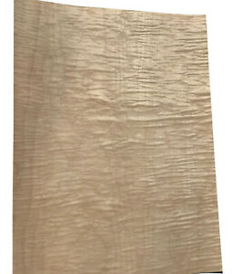 Flame Maple Raw Wood Veneer Sheets 16 5 X 21 5 Inches 1 42nd H7684 28