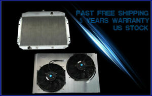 For 61 62 63 64 Ford F100 F250 F350 Pickup Truck V8 Radiator Shroud 12 Fan