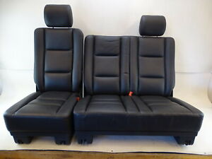 15 Mercedes W463 G550 G63 Seats Rear Black