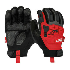 Milwaukee 48 22 8751 Impact Resistant Demolition Gloves M New