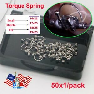 50pcs Dental Orthodontic Use Teeth Torque Springs Small Middle Big Usa Stock