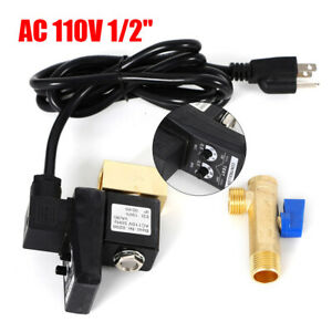 Automatic Electronic Timed Air Tank Water Moisture Drain Valve F Compressor Usa