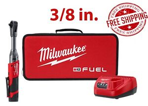 Milwaukee 2560 21 Fuel 3 8 Extended Reach Ratchet W Battery Kit Free Shipping