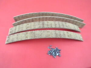 New 1932 34 Ford Woven Brake Shoe Lining Set does 2 Wheels 18 2007 w