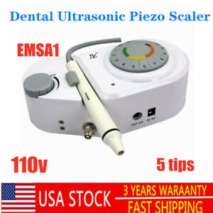 Dental Ultrasonic Piezo Scaler Cleaning Teeth Handpiece Tips For Ems Woodpeck A1