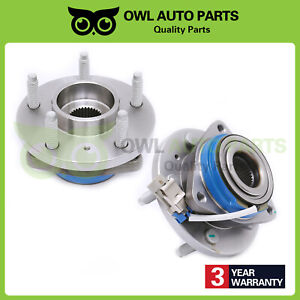 2 Front Wheel And Bearing Chevy Impala Monte Carlo Buick Lesabre Hd Design Fwd