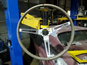 Oem Gm Wood Steering Wheel C2 And 68 Corvette Camaro Chevelle Buick Olds
