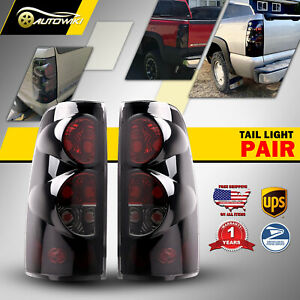 For 99 06 Chevy Silverado 99 03 Gmc Sierra Tail Lights Assembly Rear Lamps Pair