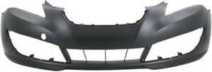 Primed Front Bumper Cover Replacement For 2010 2012 Hyundai Genesis Coupe Coupe