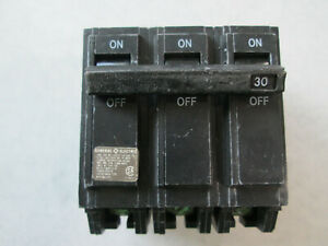 Nos General Electric Thql32030 Circuit Breaker 30a 240v 3 Pole Thql3130