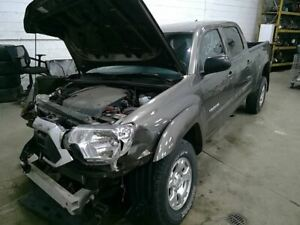 2012 Tacoma Right Passenger Side Rear Door Assembly Color Gray 4t3