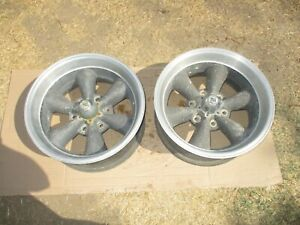 16 5x8 Santa Cruz American Made Torque Thrust Wheels Rims 6 lug Truck 2 Piece
