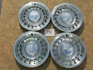 1961 Oldsmobile 88 Dynamic 88 98 F85 15 Wheel Covers Hubcaps Set Of 4