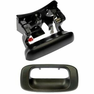 Tailgate Latch Handle Bezel For Chevy Silverado 1500 Gmc Sierra 1500 99 07