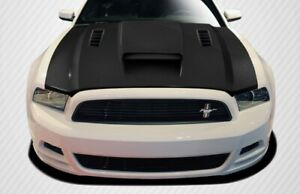 For 2013 2014 Ford Mustang 2010 2014 Mustang Gt500 Carbon Cvx Hood 106262