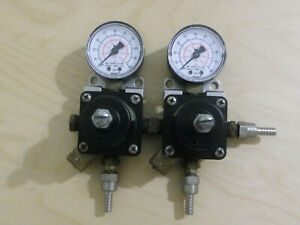 Cornelius 857a Compressed Gas Regulator 200 Psi Lot Of 2