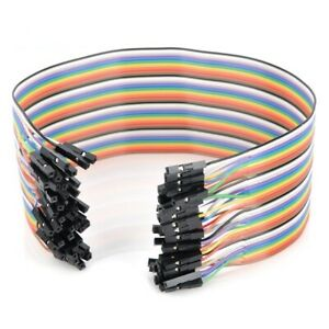 800pcs 30cm Female To Female Jumper Cable Dupont Wire For