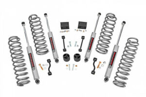 Rough Country 2 5in Suspension Lift Kit Springs N3 For 18 20 Jeep Wrangler Jl