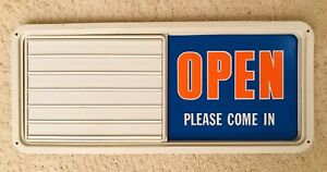 Vintage Business Open Or Closed Sign