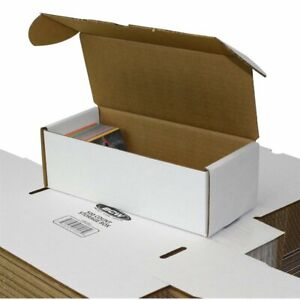 Bundle Of 50 Small White Cardboard Shipping Boxes 9 X 3 7 8 X 3