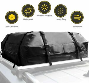 Orford Rooftop Cargo Carrier Waterproof Roof Rack Cargo Carrier Bag 15 Cubic