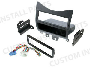 Car Radio Stereo Single Din Dash Kit Harness Dash Fits 2003 2007 Honda Accord