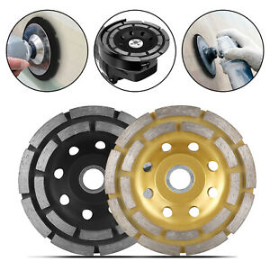 4 5 Diamond Segment Grinding Wheel Disc Grinder Cup Concrete Stone Granite Cut