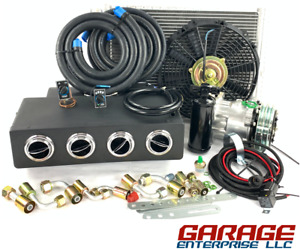 A C Kit Universal Underdash Evaporator 404 0 Rc Heat Cool H C With Elec Harness
