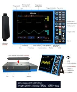 Micsig Sto1152c Plus Oscilloscope 150mhz 2ch Touchscreen With 3 Years Warranty